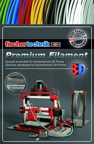 Купить Нить для 3D принтера fischertechnik серебряный (50 грамм) (FT-539127)