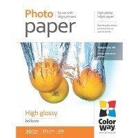 Бумага ColorWay глянц. 200г/м, LT PG200-20 карт.уп. (PG200020LT)