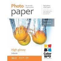 Бумага ColorWay глянц. 200г/м, LT PG200-50 карт.уп. (PG200050LT)