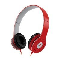 Навушники Genius HS-M450 Mic Red