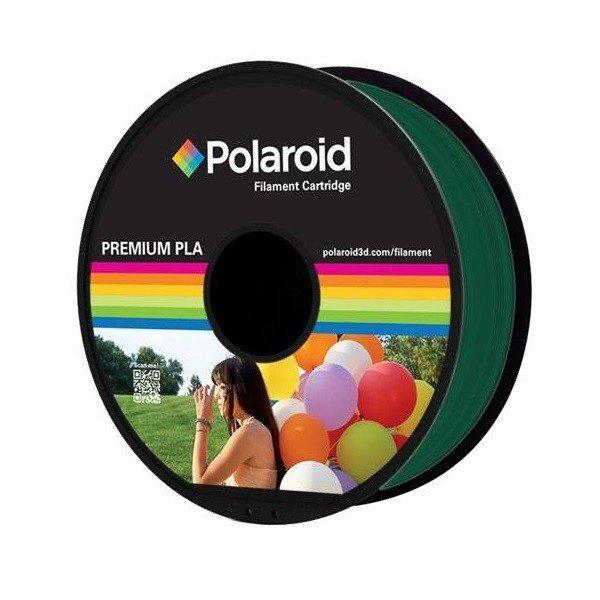 Купить Катушка с нитью Polaroid 1.75мм/1кг PLA для 3D принтера Темно-Зеленый
