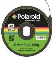 Картридж с нитью Polaroid 1.75мм/0.75кг PLA ModelSmart 250s Зеленый