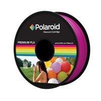 Катушка с нитью Polaroid 1.75мм/1кг PLA для 3D принтера Пурпурно-Красный