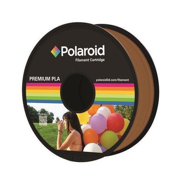 Купить Катушка с нитью Polaroid 1.75мм/1кг PLA для 3D принтера Коричневый