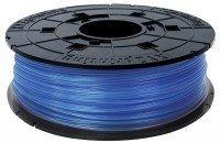 Котушка з ниткою XYZprinting 1.75мм/0.6кг PLA Filament Прозорий Синій