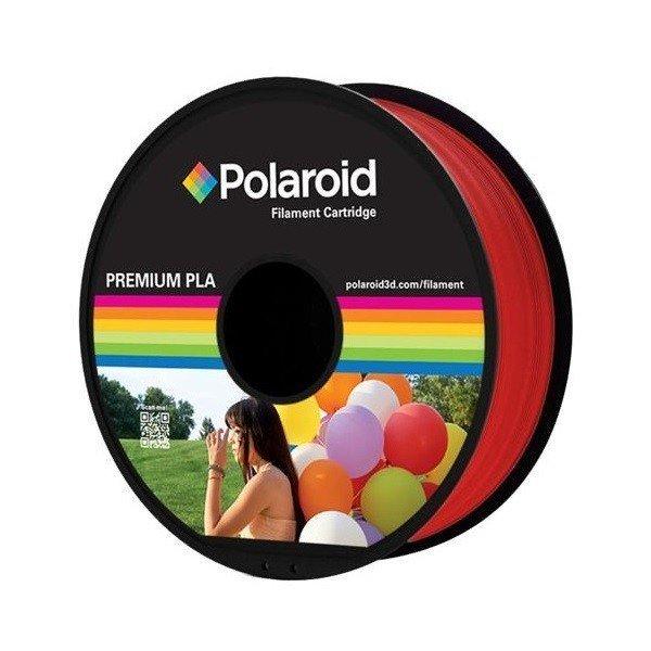 Купить Катушка с нитью Polaroid 1.75мм/1кг PLA для 3D принтера Красный