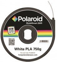 Картридж с нитью Polaroid 1.75мм/0.75кг PLA ModelSmart 250s Белый