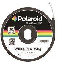 Картридж з ниткою Polaroid 1.75мм/0.75кг PLA ModelSmart 250s Білий