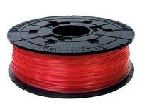 Катушка с нитью XYZprinting 1.75мм/0.6кг PLA(NFC) Filament Прозрачный Красный