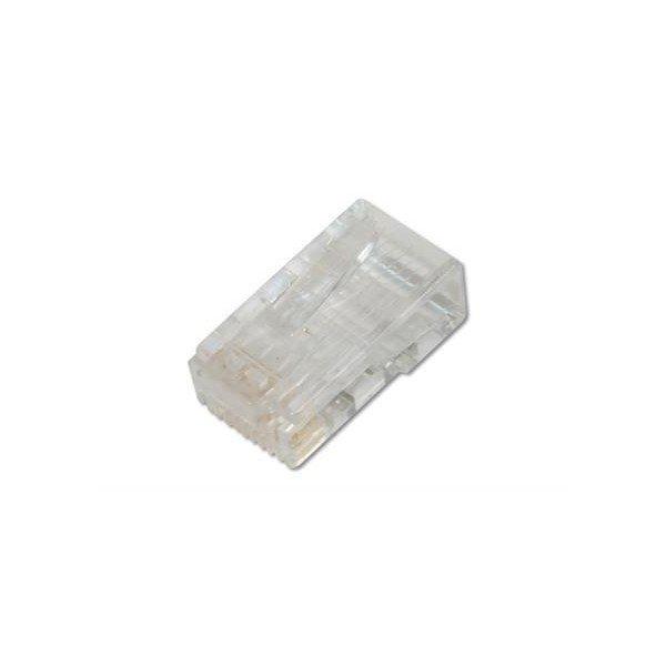 Купить Опции к сетевому оборудованию, Коннектор DIGITUS RJ45 Cat.6 UTP, 100шт. (AK-219602)