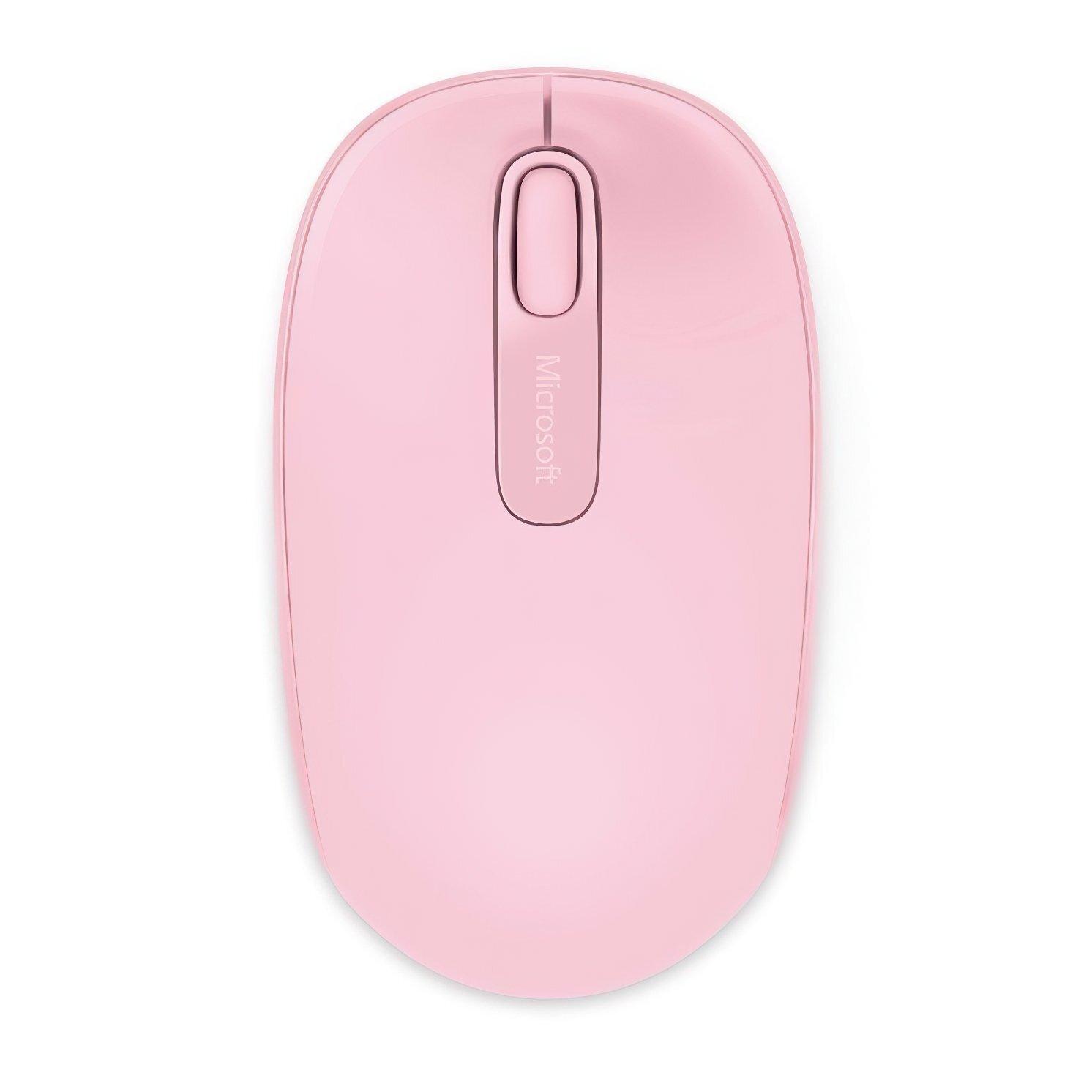 Миша Microsoft Mobile Mouse 1850 WL Pink (U7Z-00024) фото