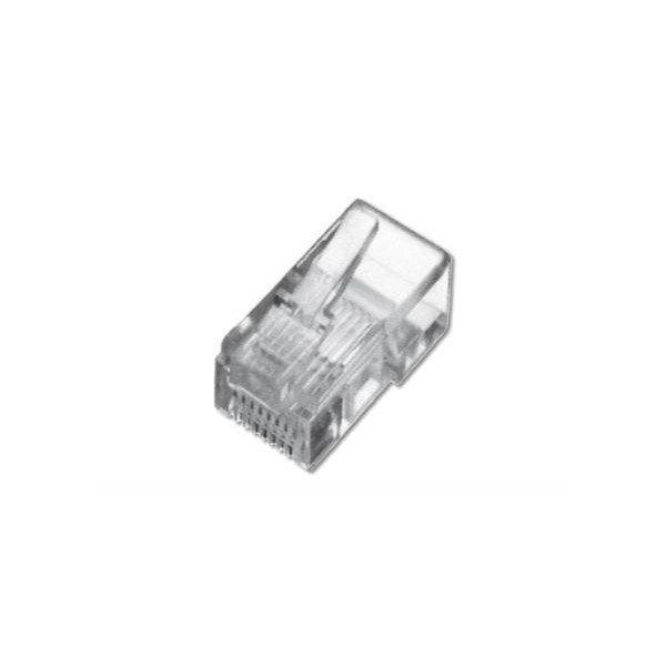 Купить Опции к сетевому оборудованию, Коннектор DIGITUS RJ45 Cat.5e UTP, 100шт. (A-MO8/8SR)