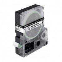 Картридж с лентой Epson LK4WBH принтеров LW-300/400/400VP/700 Heat Resist Blk/Wh 12mm/2 (C53S654025)