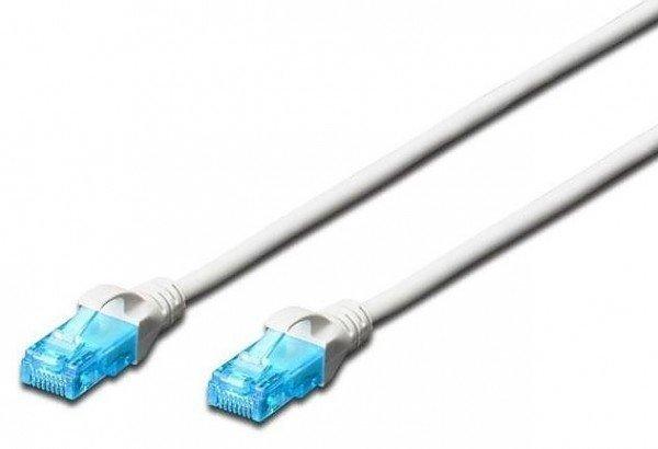 Купить Патч-корд DIGITUS CCA CAT 5e UTP, 0.25м, AWG 26/7, PVC, серый