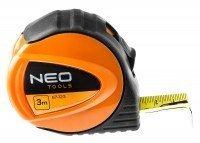 Рулетка измерительная NEO 3м (67-123)