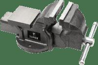 Тиски TOPEX 100мм 07A110