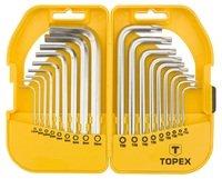 Набор ключей шестигранных TOPEX HEX i Torx 18шт (35D952)