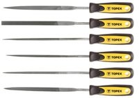 Набор надфилей по металлу TOPEX 6 шт 06A010