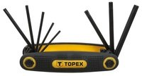 Набор ключей шестигранных TOPEX Torx 8шт (35D959)