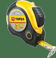 Рулетка измерительная TOPEX с магнитом 3м 27C363