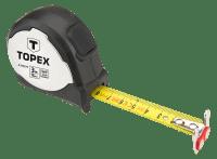 Рулетка измерительная TOPEX с магнитом 3м 27C373