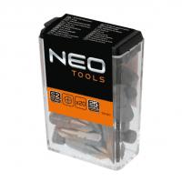 Набор бит NEO PH2 25мм 20 шт (06-011)