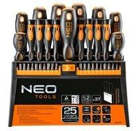 Набор отверток и бит NEO 37 предметов (04-210)