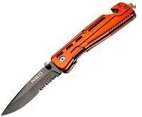 Нож строительный NEO с фиксатором (63-026)