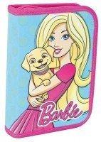 Пенал 1 вересня твердый одинарный с двумя клапанами Barbie mint, 20,5*14*3,5 (531370)