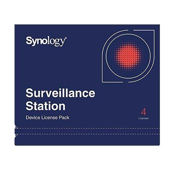 Ліцензія Synology Camera License Pack (4 cameras)фото