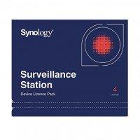 Ліцензія Synology Camera License Pack (4 cameras)