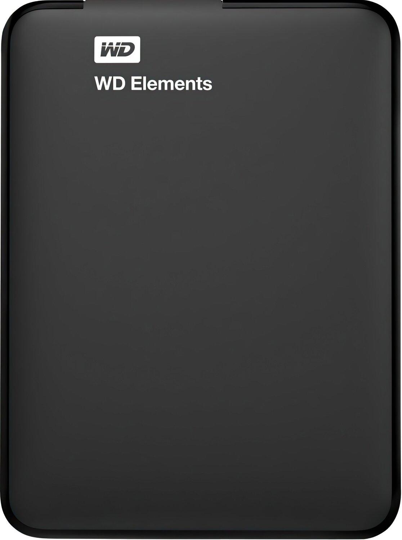 Жесткий диск WD 2.5 USB 3.00 2TB 5400rpm Elements Portable (WDBU6Y0020BBK-WESN) фото