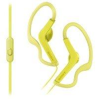Навушники Sony MDR-AS210AP Yellow