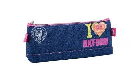 Пенал школьный мягкий Yes I love Oxford, 20.5*8.5*2.5 (531399) фото