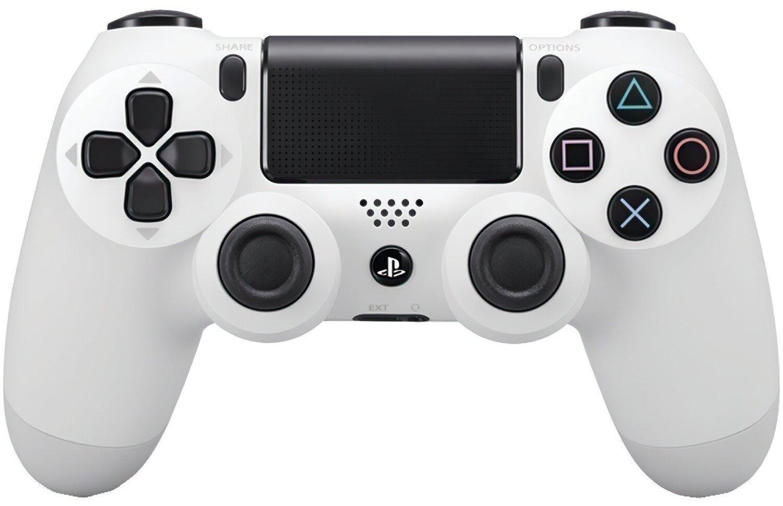 Беспроводной геймпад SONY Dualshock 4 V2 White для PS4 (9894759) фото 1