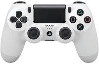 Беспроводной геймпад Dualshock 4 V2 White для PS4 (9894759)