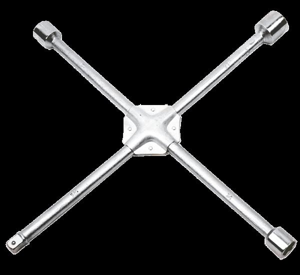 Купить Ключ балонный крестовой TOPEX 37D313 17 x 19 x 22 мм, 1/2