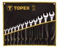 Набір ключів комбінованих TOPEX 35D758 13-32мм 12шт.