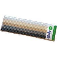 Набор стержней для 3D ручки 3Doodler CREATE хаки, 25 шт (металлик/глянецец) (PL-MIX7)