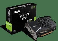 Видеокарта MSI GeForce GTX 1060 6GB GDDR5 Aero ITX OC (GF_GTX_1060_AERO_ITX_6OC)