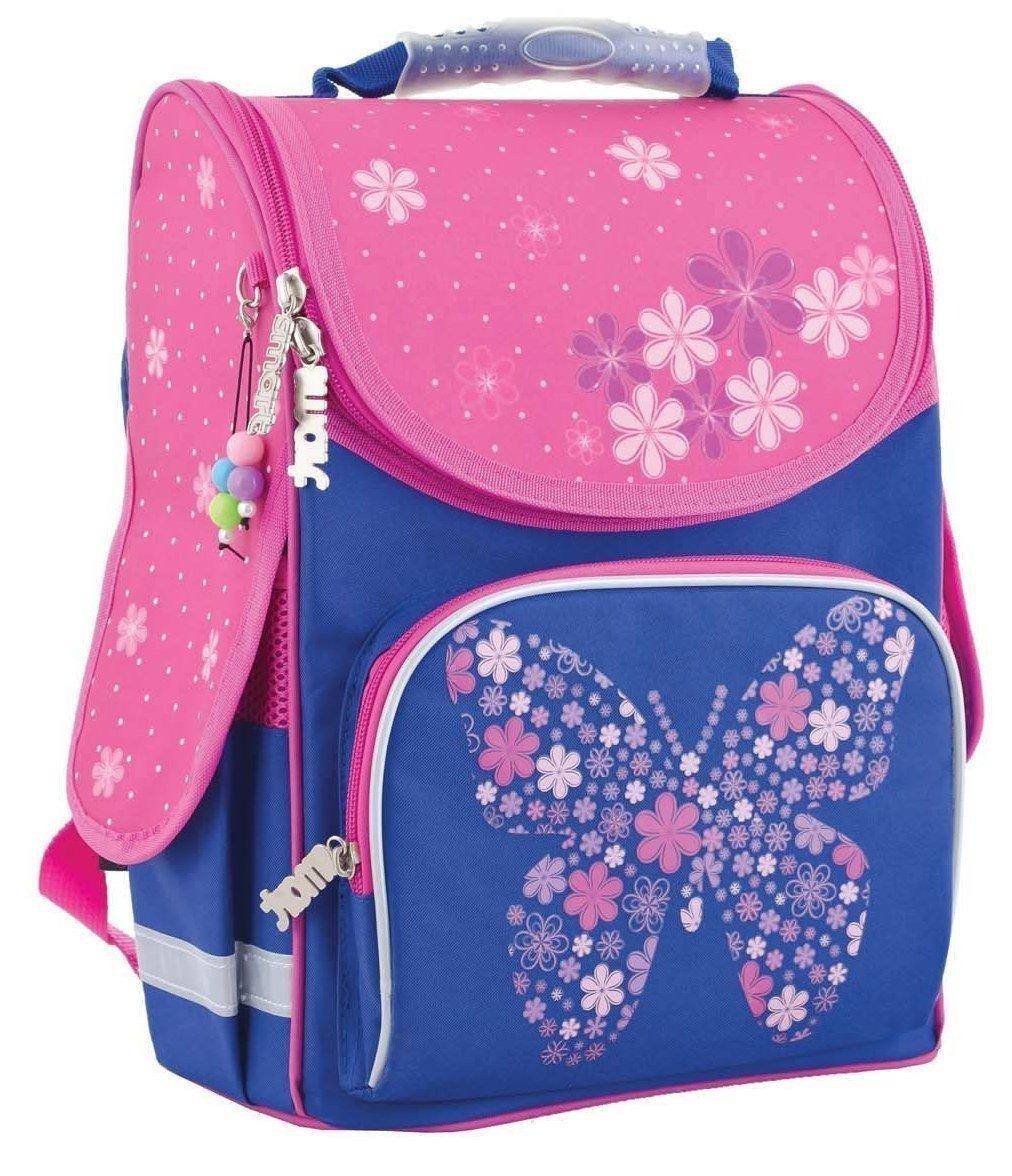 ef1ce11d2551 ≡ Рюкзак школьный каркасный Smart PG-11 Flower butterfly, 34*26*14 ...