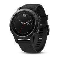 Смарт-часы GARMIN Fenix 5 Sapphire Black with Black Band