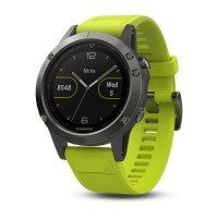 Смарт-часы GARMIN Fenix 5 Slate Gray with Yellow Band