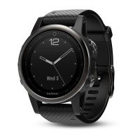 Смарт-часы GARMIN Fenix 5S Sapphire with Black Band