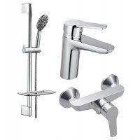 Набір змішувачів для ванни KOLLER POOL Kvadro 3 в 1 (KR0200 + KR0450 + KR020)