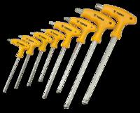 Набор ключей шестигранных TOPEX 35D967 HEX 8шт.