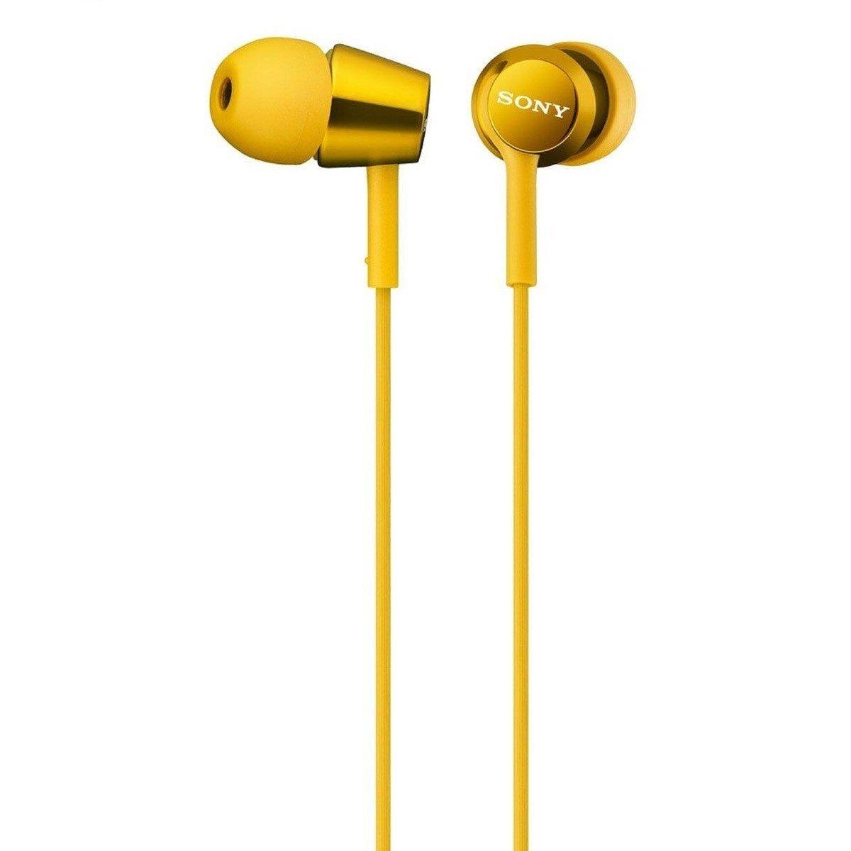 ≡ Наушники Sony MDR-EX150 Yellow – купити в Києві  899e43c6ee236