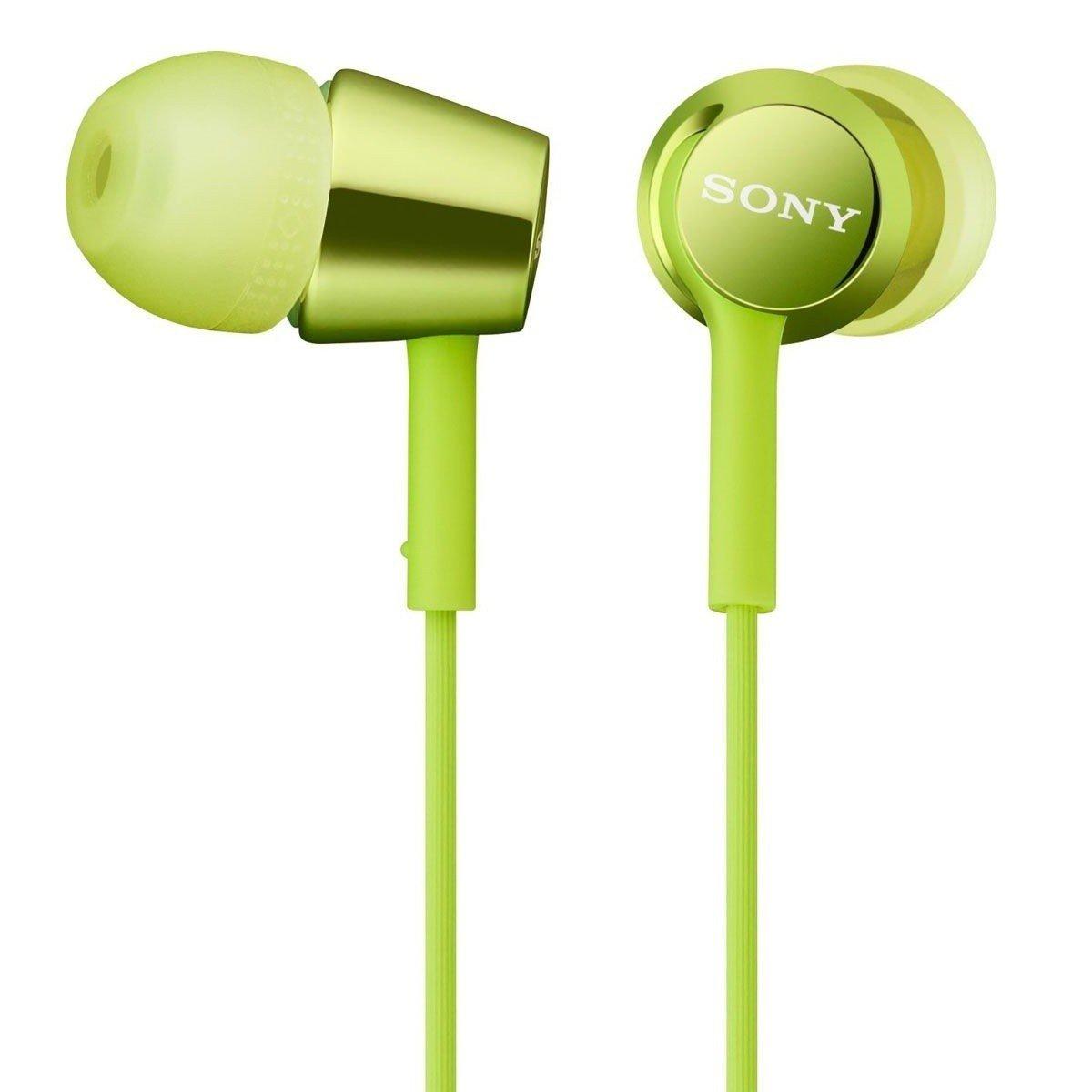 ≡ Навушники Sony MDR-EX150 зелені – купити в Києві  58f297e90ce0f