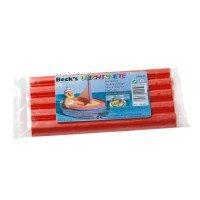 Пластилин плавающий Becks Plastilin 200г красный (B100434)