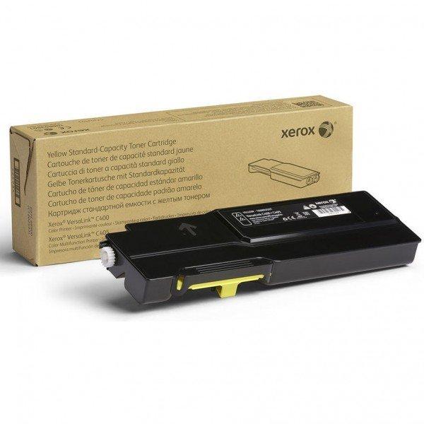 Купить Картриджи к лазерной технике, Тонер-картриджлазерныйXeroxVLC400/405Yellow, 8000стр(106R03533)